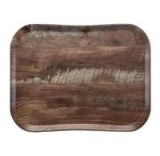 Overige merken Cambro Dienblad 33 x 43 cm, houtlook dark oak, 1 stuk