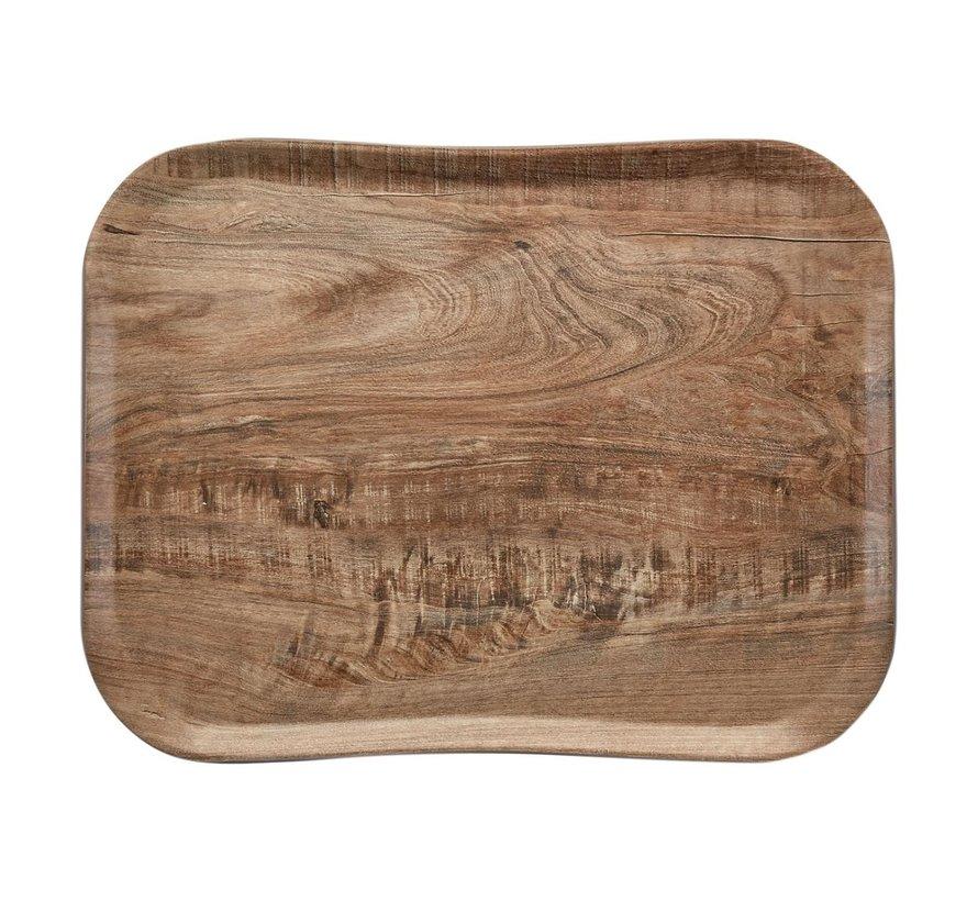 Cambro Dienblad 33 x 43 cm, houtlook light olive, 1 stuk