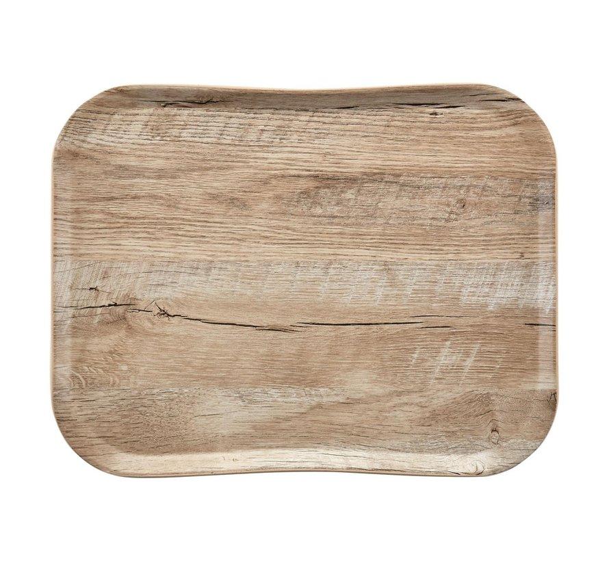 Cambro Dienblad 36 x 46 cm, houtlook light oak, 1 stuk