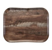 Overige merken Cambro Dienblad 36 x 46 cm, houtlook dark oak, 1 stuk