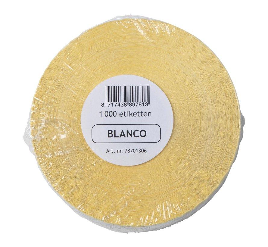 Labellord Blanco etiket removable 1000 stuks, 1 rol
