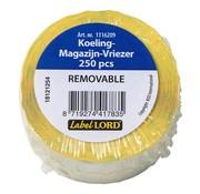 Overige merken Labellord Etiketten Koeling-magazijn-vriezer 70 x 35 mm, 1 rol