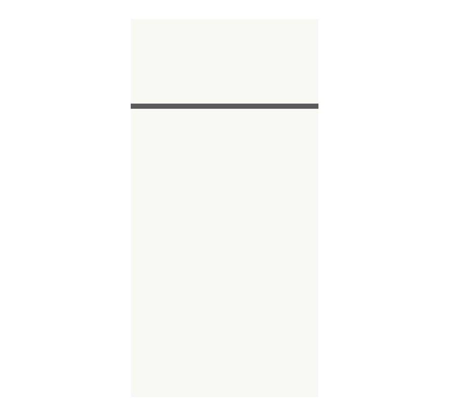 Duni Bestekzak duniletto 40 x 48 cm, wit, 46 stuks