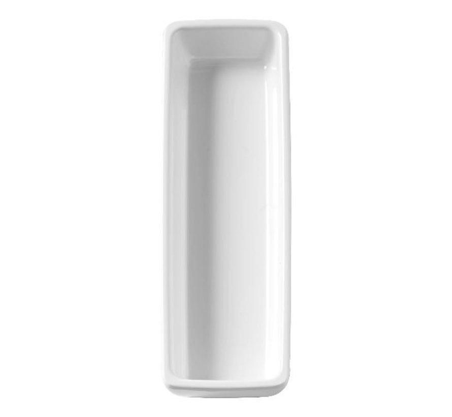 Truyts Schaal rechthoek wit, 20 x 10 cm, 1 stuk
