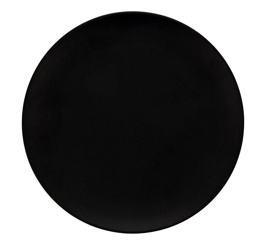 Rak Bord rond zwart, 27 cm, 1 stuk