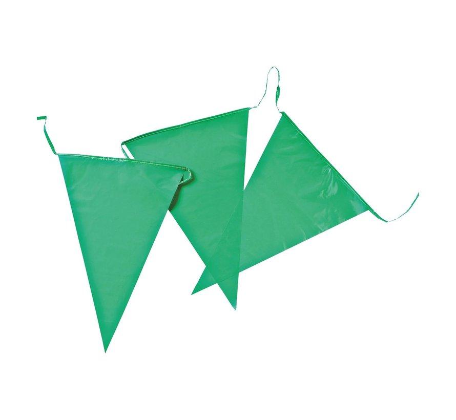 Reuzenvlaggenlijn PE Groen 10 m, 1 stuk