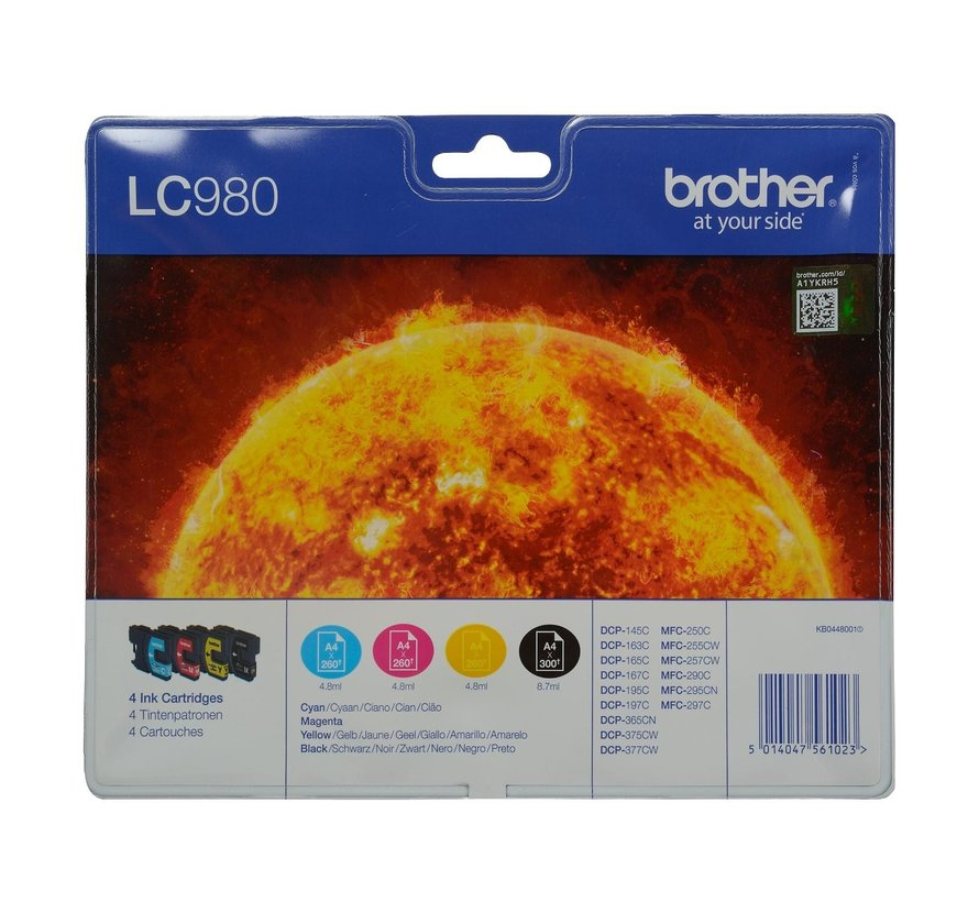 Brother Inktcartridge LC980, 1 stuk