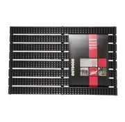 Overige merken Md-Entree Schoonloopmat Avanti Brush 40 x 60 cm, zwart, 1 stuk