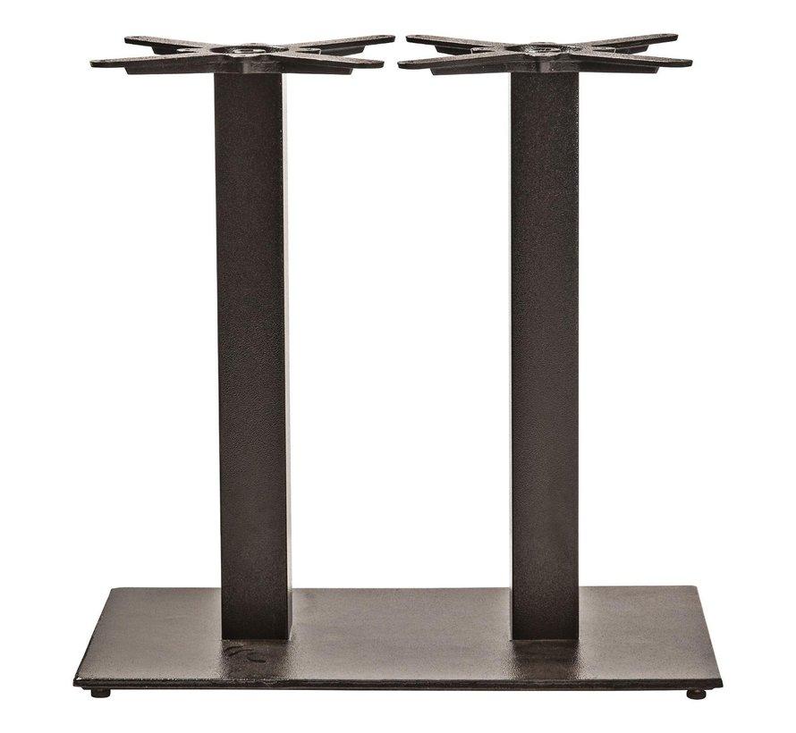 Sediamo Tafelonderstel, dubbel staal, doos 1 zwart, 1 stuk