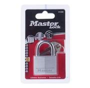 Overige merken Master-Loc Aluminium slot met metalen schakel, 1 stuk