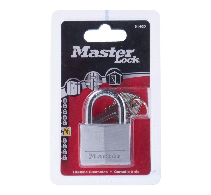 Master-Loc Aluminium slot met metalen schakel, 1 stuk