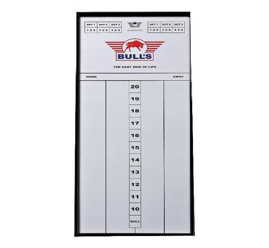 Bull'S Darts scorebord 60 x 30 cm, 1 stuk