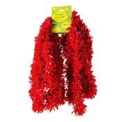 Overige merken Guirlande, PVC, brandvertragend rood, 10 meter
