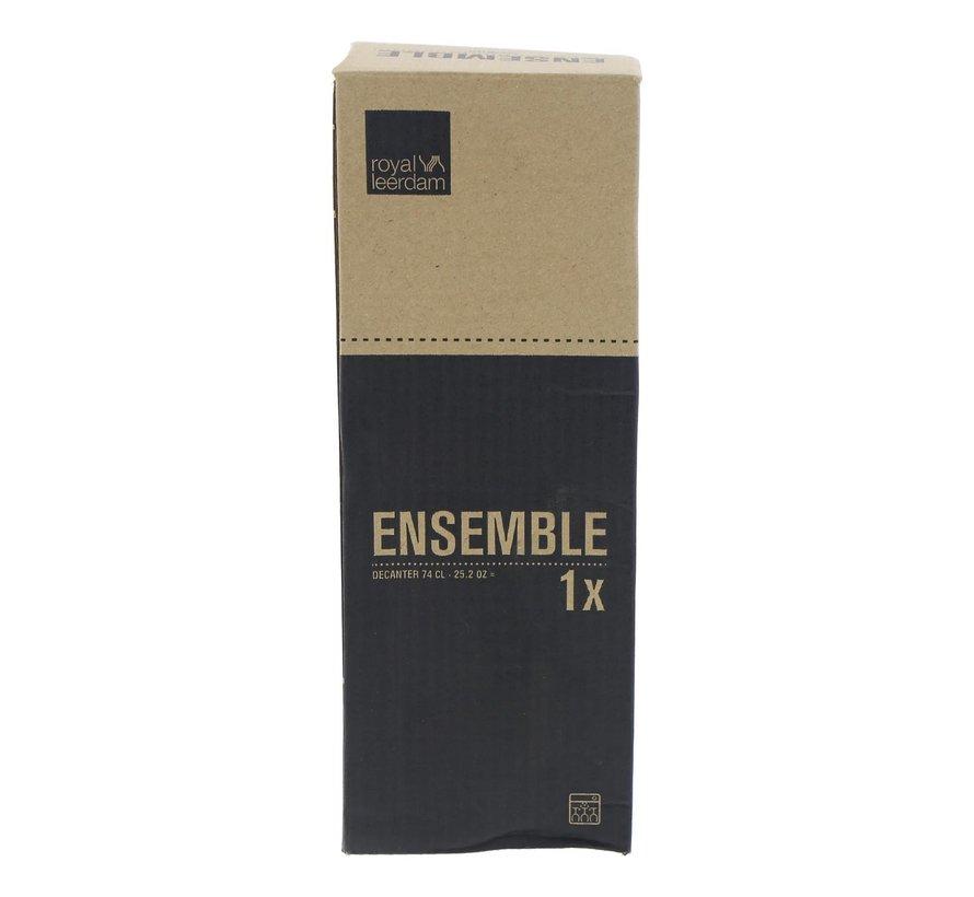 Royal Leer Ensemble karaf 0,5 liter, 1 stuk