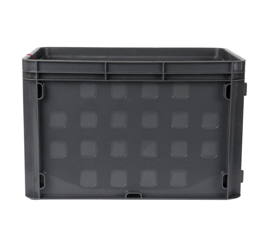 Sunware Opbergbox grijs, 26 liter, 1 stuk