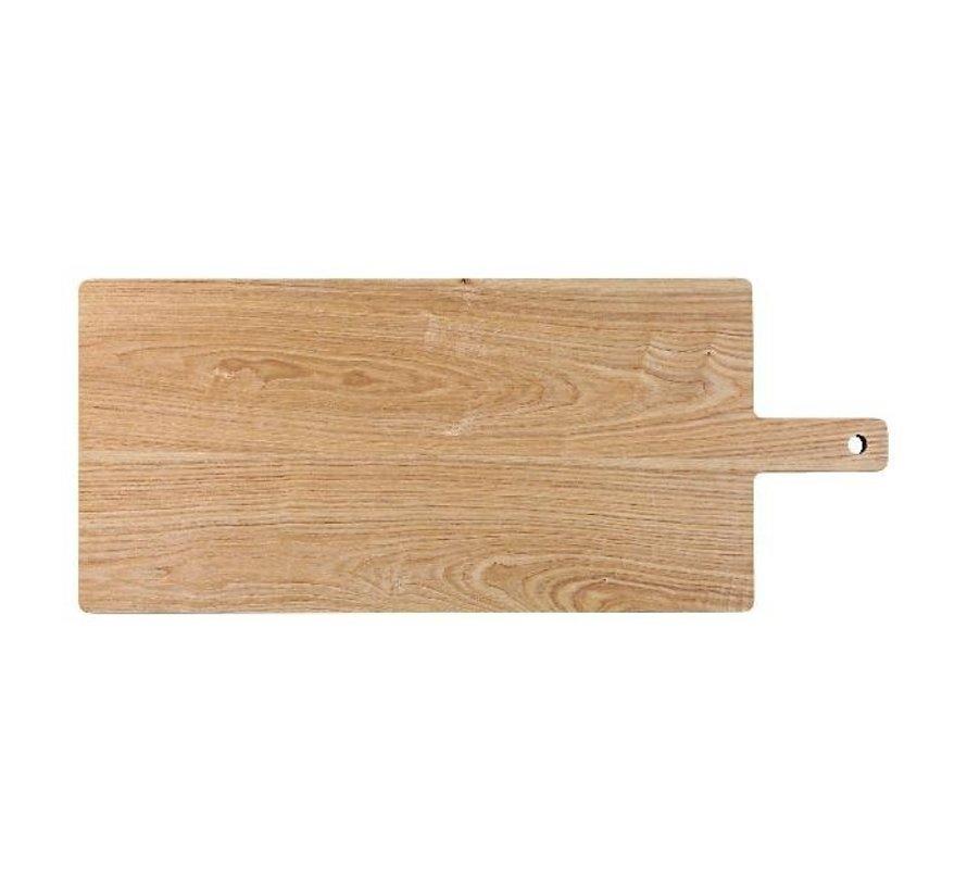 Pro Chef Serveerplank CH.eiken met handvat 50 x 25 cm, 1 stuk