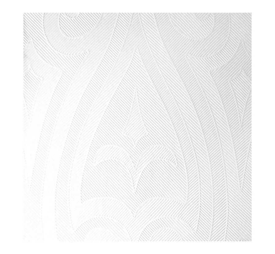 Duni Servetten Lily 48 x 48 cm, witte, 40 stuks