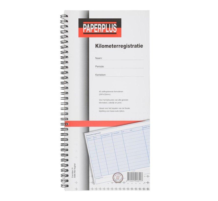 Paperplus Kilometerregistratieboek, 1 stuk