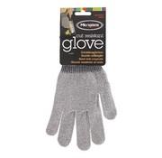 Overige merken Microplane Snijbestendige handschoen 22 cm grijs te gebruiken tijdens het raspen en snijden, 1 paar