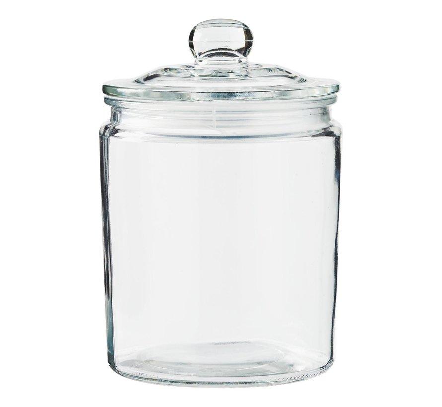 Slimresto Voorraadpot 1,7 liter glas, 1 stuk