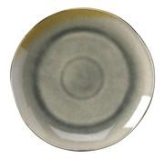 Overige merken Gastro Bord coupe grijs/aqua, 26,5 cm, 1 stuk