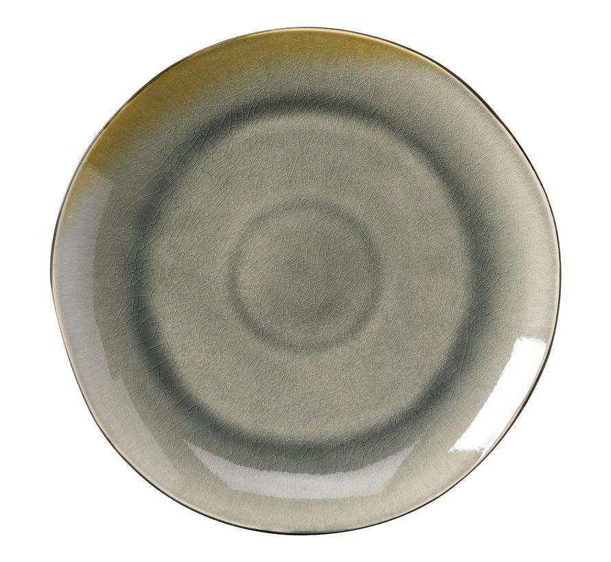 Gastro Bord coupe grijs/aqua, 26,5 cm, 1 stuk