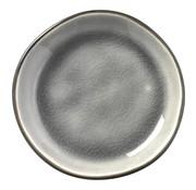 Overige merken Gastro Appetizerschaaltje grijs/aqua, 9 cm, 1 stuk