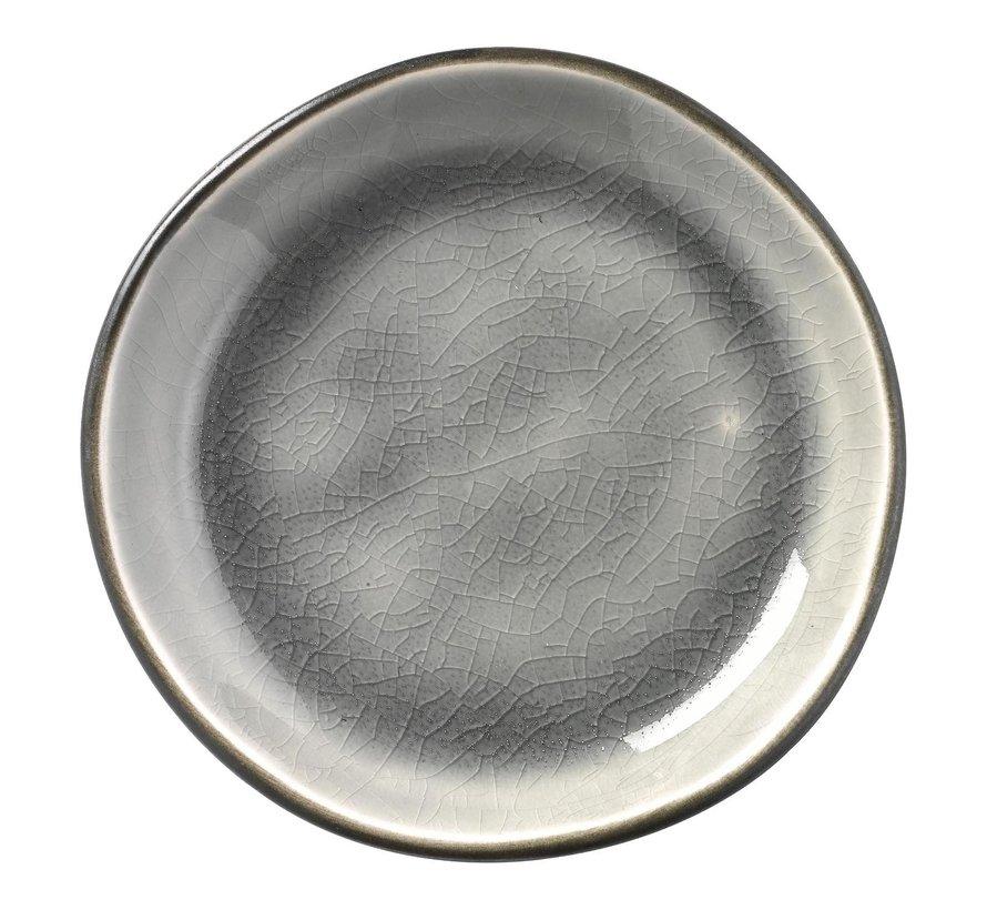 Gastro Appetizerschaaltje grijs/aqua, 9 cm, 1 stuk