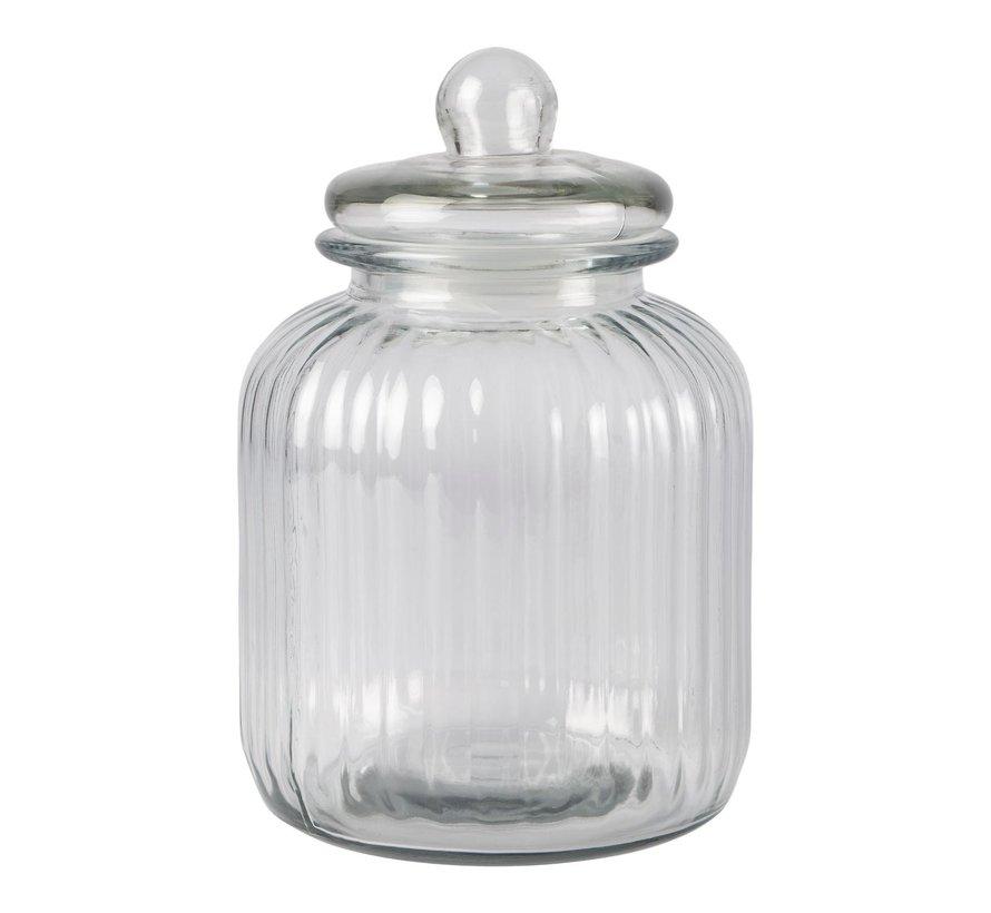 Slimresto Voorraadpot 3,7 liter glas, 1 stuk
