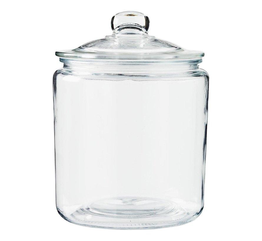 Slimresto Voorraadpot 3,8 liter glas, 1 stuk