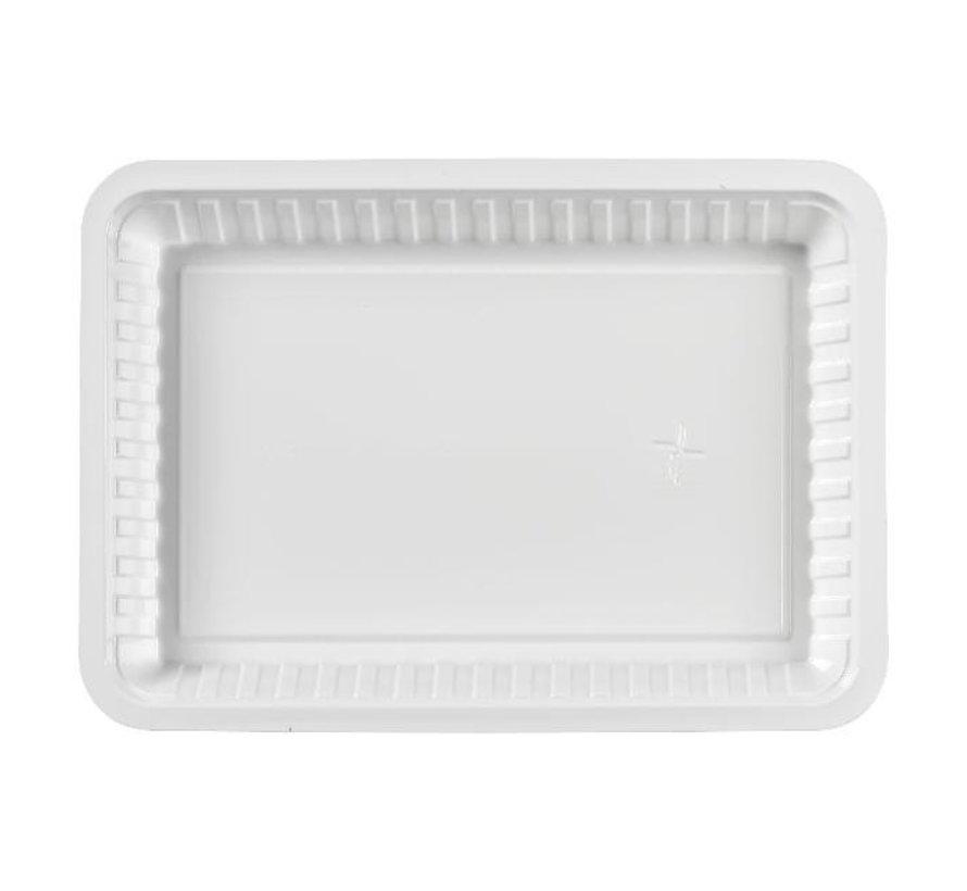 Take Dis Plastic schaaltje wit V3, 250 stuks
