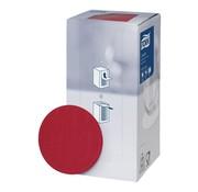 Overige merken Tork Onderzetters 9 cm, rood, 250 stuks