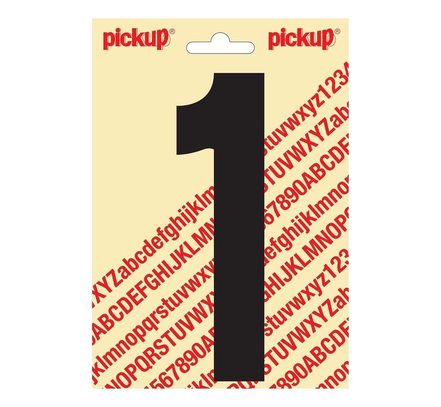 Pickup Plakcijfer 1, 1 stuk