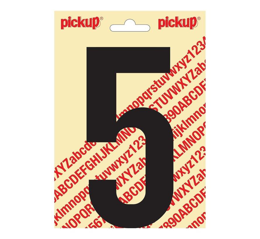 Pickup Plakcijfer 5, 1 stuk