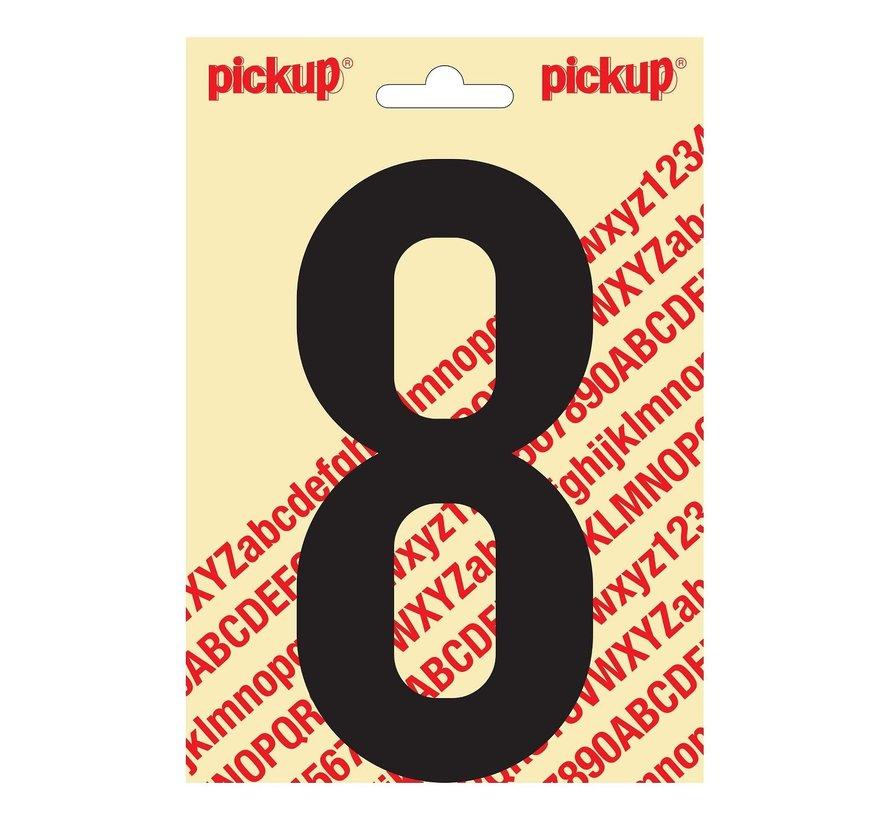 Pickup Plakcijfer 8, 1 stuk