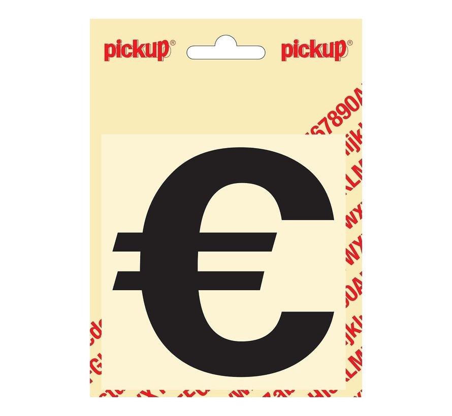 Pickup Zelfklevende sticker Euroteken, 1 stuk