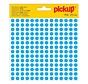 Pickup Zelfklevende sticker 8 mm, blauw, 1 stuk
