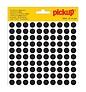 Pickup Zelfklevende sticker 12 mm, zwart, 1 stuk