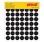 Pickup Zelfklevende sticker 19 mm, zwart, 1 stuk