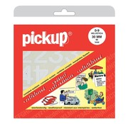 Overige merken Pickup Cijferboek 0 t/m 9 Helvetica 30 mm wit, 1 stuk