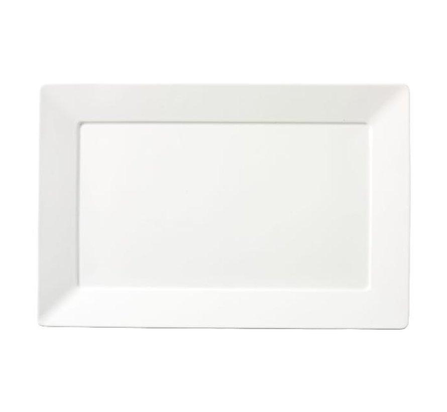 Chic Schaal wit, 46 x 30,5 cm, 1 stuk