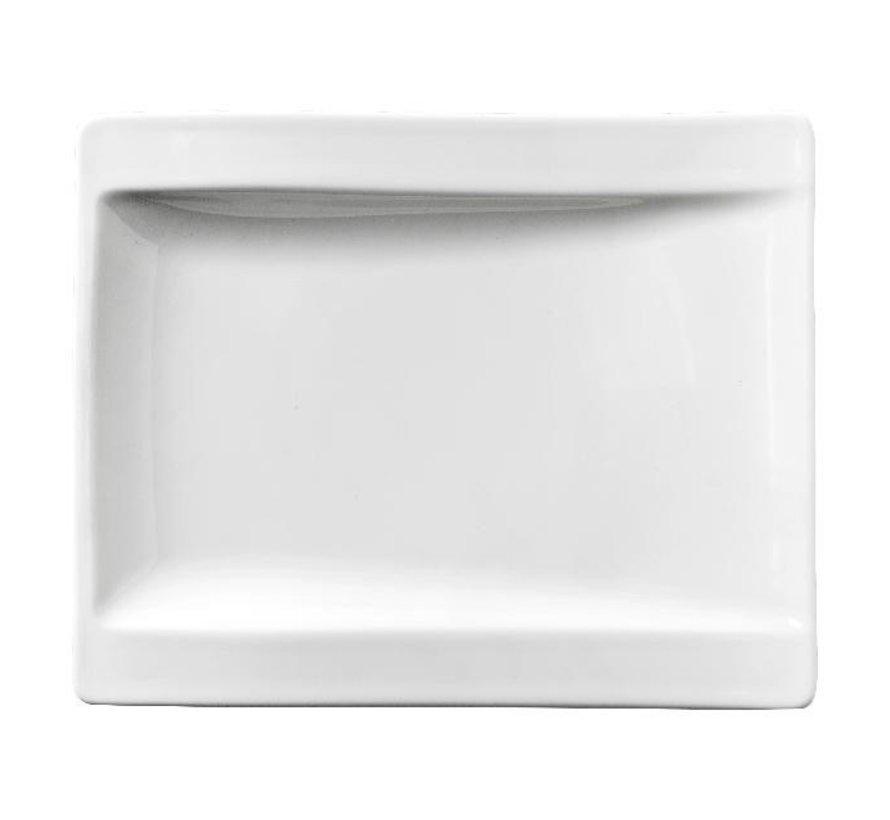 Villeroy & Boch Bord wit, 18 x 15 cm, 1 stuk