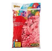 Overige merken Globos Ballonnen roze, onbedrukt, 100 stuks