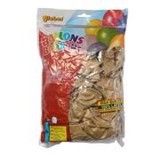 Overige merken Globos Ballonnen onbedrukt, goud, 100 stuks