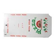 Overige merken Depa Pizzadoos americano wit 33 x 34 x 4 cm, 50 stuks
