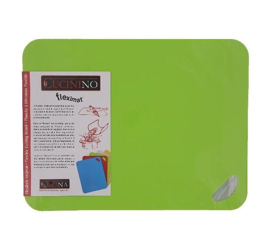 Fleximat Flexibele snijmat 38 x 29 cm, groen, 1 stuk
