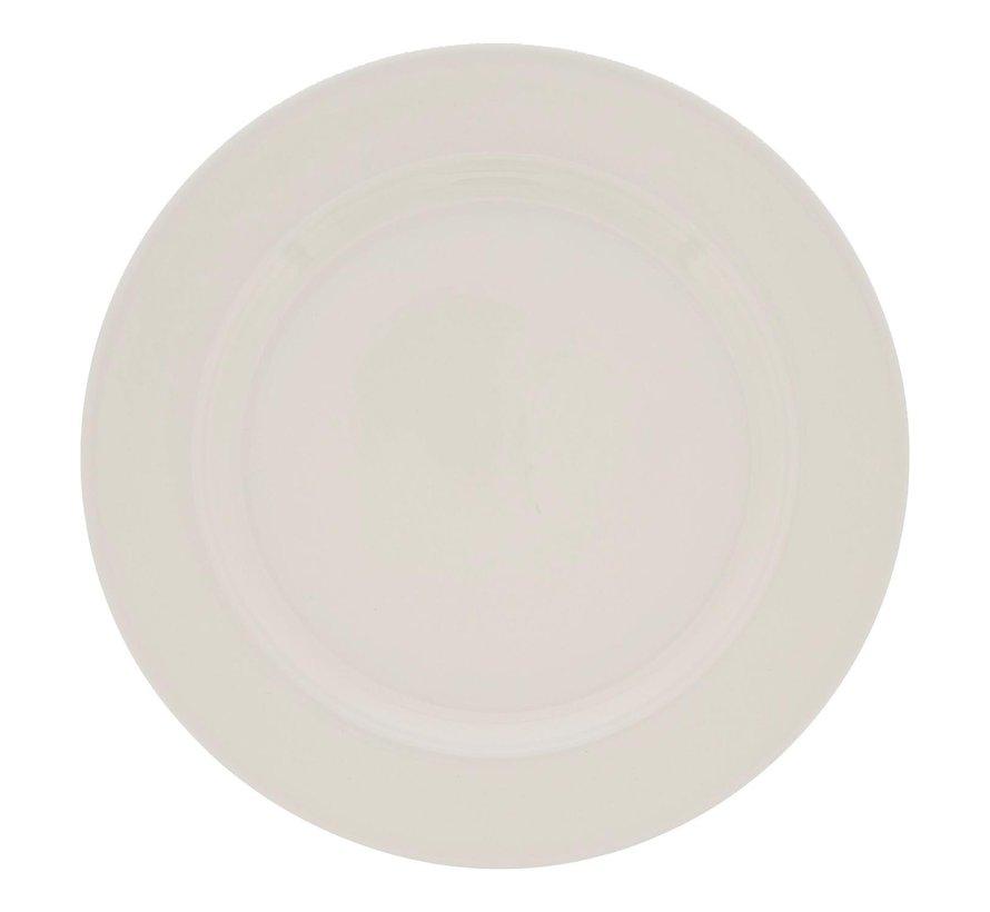 Rak Bord wit, 24 cm, 1 stuk