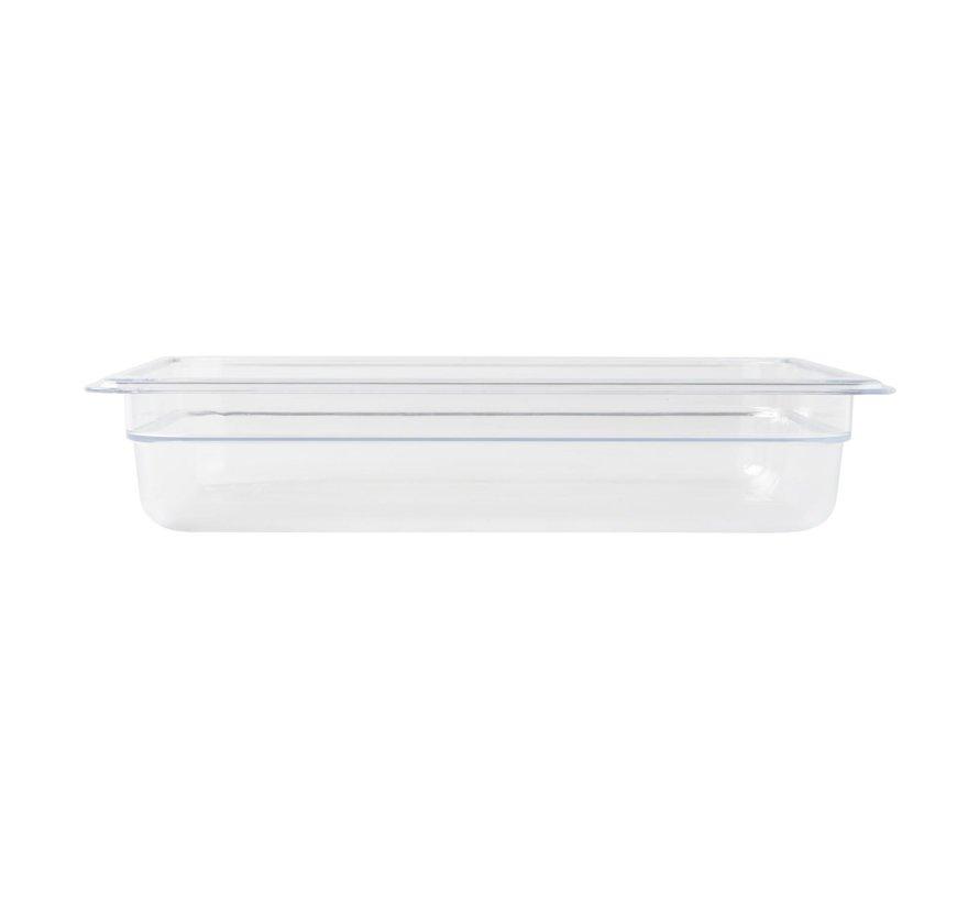 Camwear Gastronormbak helder transparant 1/2 x 65 mm polycarbonaat, 1 stuk