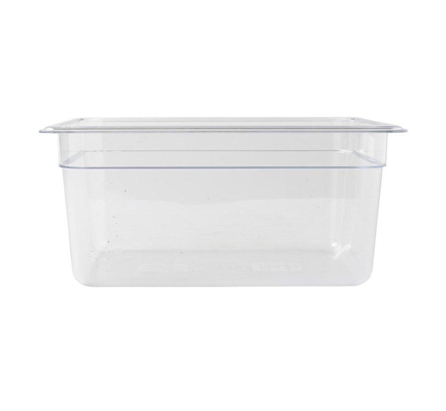 Camwear Gastronormbak helder transparant 1/2 x 150 mm polycarbonaat, 1 stuk