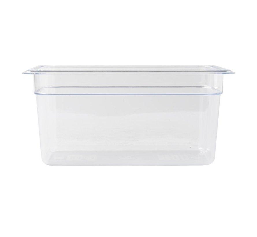 Camwear Gastronormbak helder transparant 1/3 x 150 mm polycarbonaat, 1 stuk